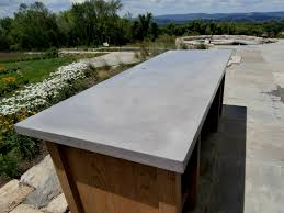 Stainless Steel Outdoor Countertops Brooks Custom by Exterior Concrete Table Top Brooks Custom