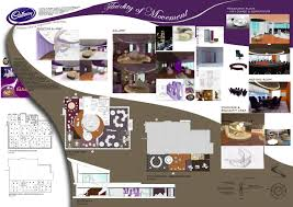 Corporate Office Cadbury Boards  Presentations Inspiration - Interior design presentation board ideas