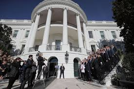 maryland lacrosse teams visited the white house on friday