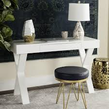 Glossy White Desk by White Lacquer Desk 301 Best Images About Office On Pinterest