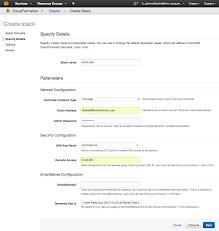 setting up hdcloud using the basic template hortonworks data cloud