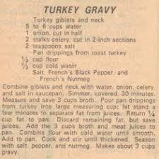 turkey gravy my southern grandmother always added a thinly sliced