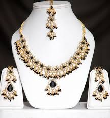 black gold necklace jewelry images Black gold jewelry set online shopping shop for great jpg