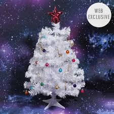 6 piece 2ft christmas tree set