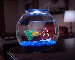 marvel superheroes aquarium line decor
