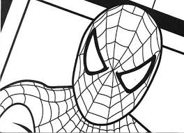 printable spiderman coloring pages pictures 16341