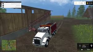 2015 kenworth dump truck farming simulator 2015 kenworth dump truck v2 0 mod youtube