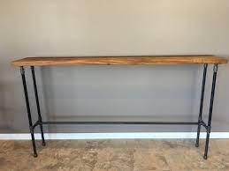 Hallway Table by Entry Table Hallway Table Nook Table42 Inch Highbar Height