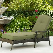 Woodard Belden Padded Sling Aluminum Chaise Lounges