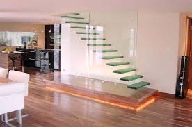 modern staircase with high ceiling floating staircase zillow