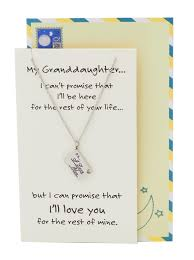 granddaughter jewelry davanee happy birthday granddaughter necklace jewelry inspirational