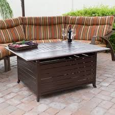 Firepit Patio Table by Outdoor Fireplaces
