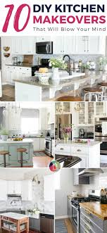 diy kitchen makeover ideas 10 diy kitchen makeovers that will your mind designer trapped
