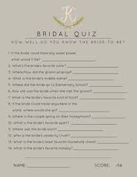 Hit The Floor Quizzes - free how well do you know the bride u0026 groom game free printable
