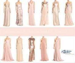 nordstrom bridesmaid beautiful rosegold bridesmaid dresses our top picks for your