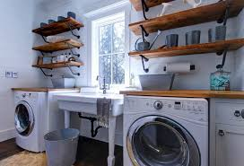 decorating ideas modern laundry room attic