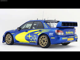subaru sti rally car subaru impreza wrc prototype 2006 picture 10 of 11
