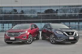 nissan murano vs pathfinder 2016 ford edge vs 2016 nissan murano autoguide com news