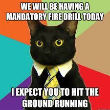 Fire Drill Meme - 2017 annual roundup exotel cloud telephony ivr software call