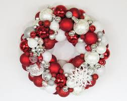 ornament wreath and green wreath