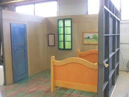 how van gogh s bedroom was rebuilt as a living masterpiece creators how van gogh s bedroom was rebuilt as a living masterpiece