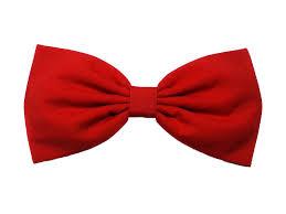 hair bow tie solid tone essentials hair bow barrette