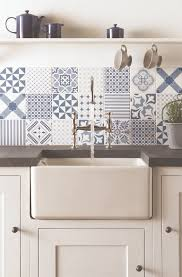 blue kitchen tiles ideas fresh blue tapestry patchwork tiles from the odyssey collection by