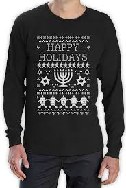 happy hanukkah sweater happy hanukkah sweater sleeve t shirt