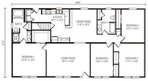 4 bedroom ranch floor plans deer view homes highland series floor plans