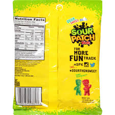 sour patch kids candy 5 oz walmart com