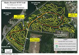 Map Of Tennessee State Parks by Tennessee Mountain Bike Trails