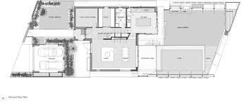 Ground Floor Plan Gallery Of Castlecrag Residence Cplusc Architectural Workshop 16