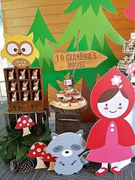 134 red riding hood party ideas images