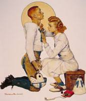 norman rockwell paintings gallery in chronological order