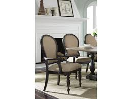 standard furniture dining room uph arm chair 12285 gilliam