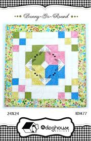 quilt pattern round and round bunny go round quilt pattern idh 77 advanced beginner wall hanging
