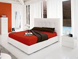 Best Beds Images On Pinterest  Beds Leather Bed And - White leather contemporary bedroom furniture