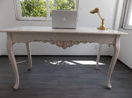 muebles decapados en blanco escritorio mueble vintage mesa blanco antiguo decapado 4 500 00