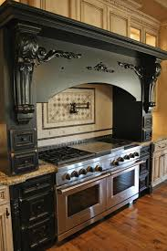 kitchen mantel ideas interior deco black mantel on kitchen with granite