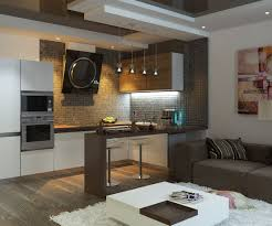 bar living room kitchen in living room with bar counter original interior ideas