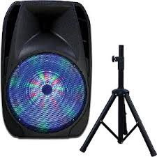 Party Speakers With Lights Browse Home Audio Speakers Bluetooth Speakers And Surround Sound