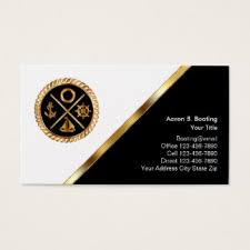 boat captain business cards templates zazzle