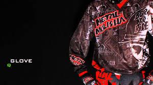 metal mulisha motocross gear 2013 msr metal mulisha broadcast collection youtube