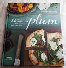vegan recipes plum bistro restaurant cookbook