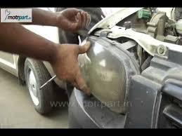 how to fit head light of maruti suzuki alto 2005 car parts india