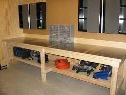 workbench with stainless steel top somethingimade