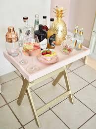 Tray Table Ikea Ikea Hack Maryd Mini Bar The Dainty Dress Diaries