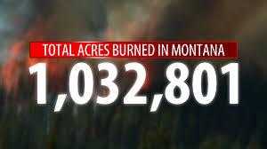 Wildfire Jordan Mt by Montana U0027s 2017 Fire Season Tops 1 Million Acres Burned Ktvq Com