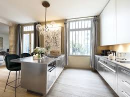 kitchen cool stainless steel kitchen design commercial base