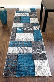 Chocolate Brown Bathroom Rugs by Turquoise And Brown Rug A Modern Geometric Style Rug Turquoise